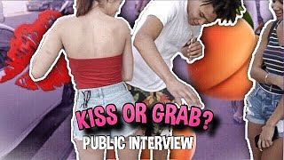 KISS OR GRAB 😘🍑 | PUBLIC INTERVIEW (SPRING BREAK EDITION 🌴