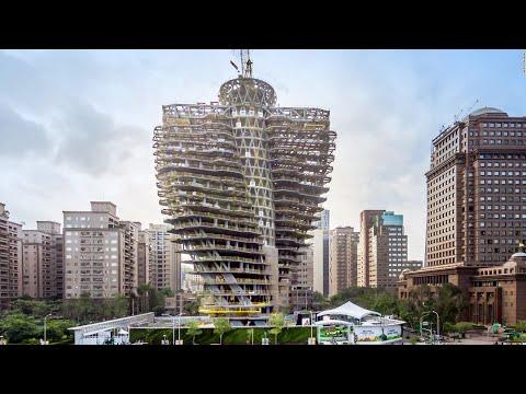 Tao Zhu Yin Yuan, zelena zgrada koja će apsorbovati oko 130 tona ugljenika