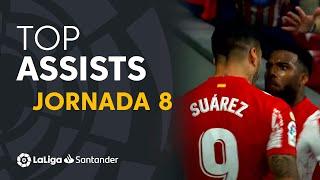 LaLiga Best Assists: Luis Suárez, José Ángel Valdés 'Cote' & Embarba