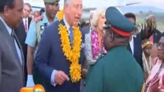 Duke, Duchess of Cornwall visit PNG