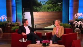 Alex OLoughlin On Ellen. May 17, 2013