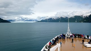 Hubbard Glacier Tour via Cruise Ship in Alaska (4K)