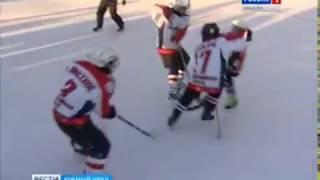 Дворовый хоккей в Челябинске