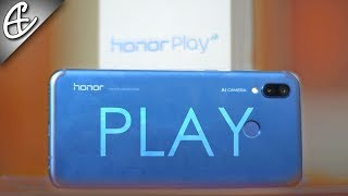 Honor Play Unboxing & Hands On Overview - 20K Flagship???
