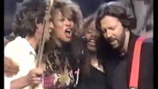"""Keith Richards, Eric Clapton, Tina Turner """"Keep A-Knockin' (But You Can't Come In)"""""""