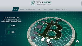 WolfInvest - HYIP - PAYING 40%-2000%??