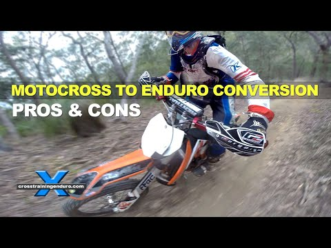 MOTOCROSS TO ENDURO CONVERSION 1: the savage beast