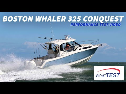 Boston Whaler 325 Conquest video