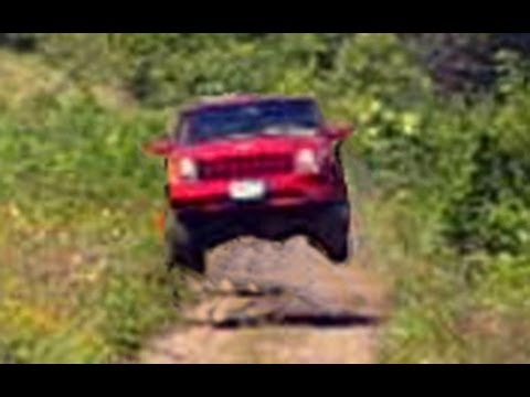 Jeep Abuse - XJ Cherokee 4x4 Jump, Donut, Drift, Burnout, Brakestand, Off Road, Snow...