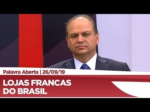 Ricardo Barros fala sobre instalação de 'free shop' em municípios de fronteira