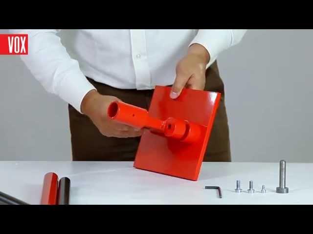 VOX MAX-3 инструмент для исследования сайдинга - монтаж