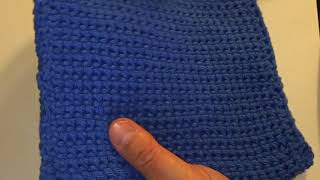 Crocheted Thick Hot Pad