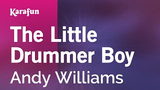 Karaoke The Little Drummer Boy - Andy Williams *