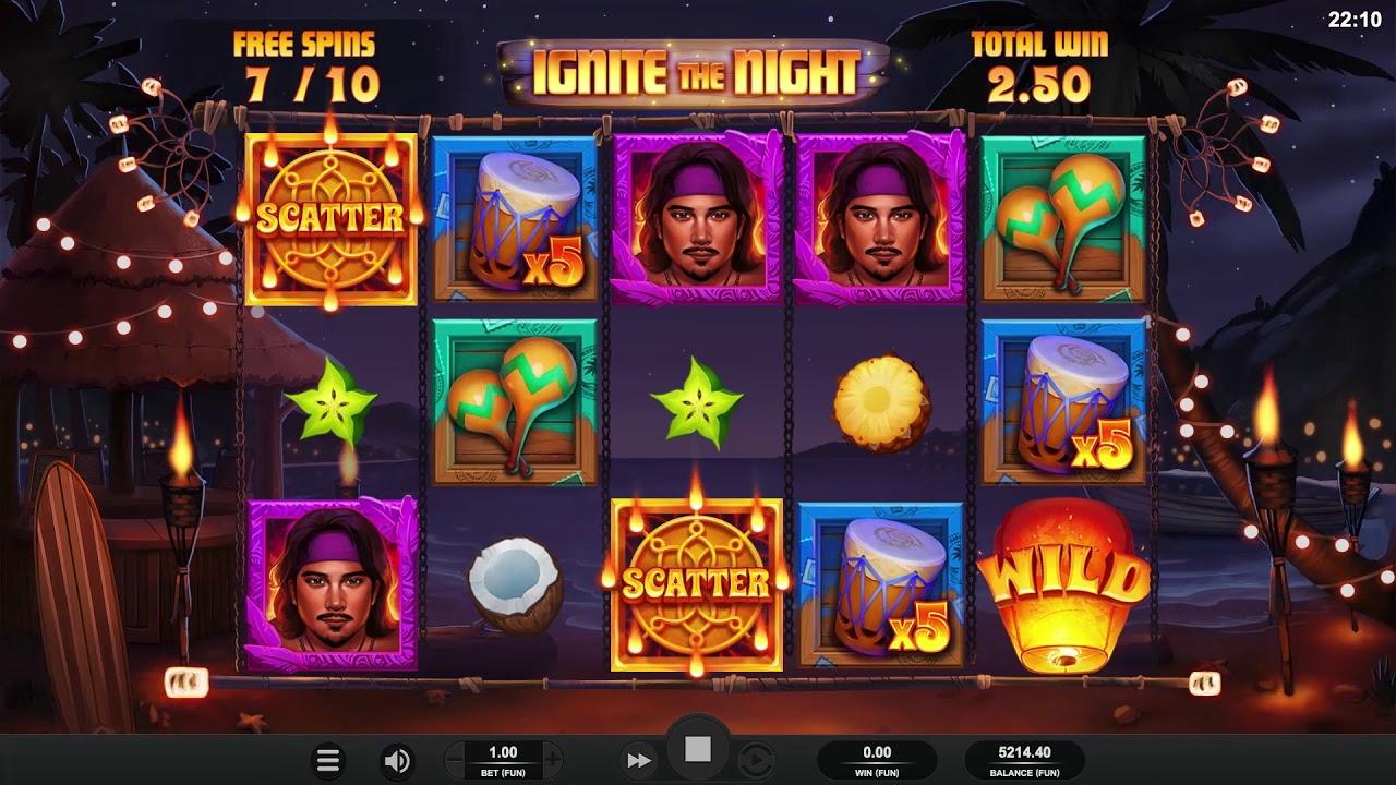 Ignite The Night från Relax Gaming