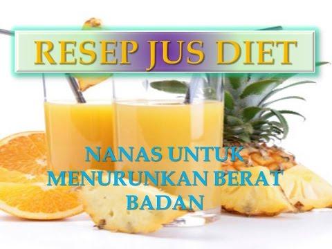 Video Resep Jus Diet Nanas Mixed Untuk Menurunkan Berat Badan