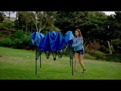 YOLI Adventure EasyLift 100 10x10 Instant Straight Leg Canopy