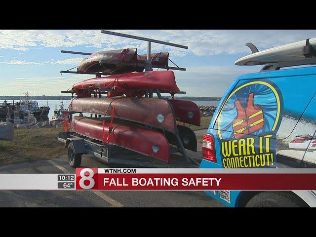 Tips for boating safely in colder weather