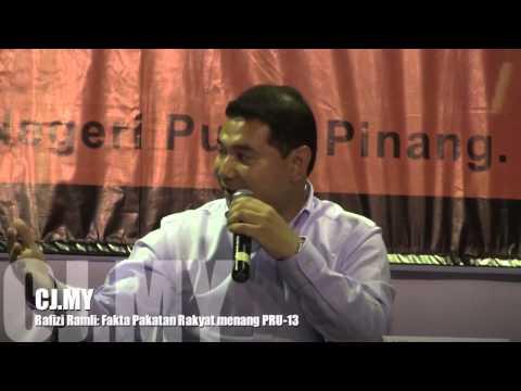 Video: Fakta Pakatan Rakyat menang PRU 13 Oleh Rafizi