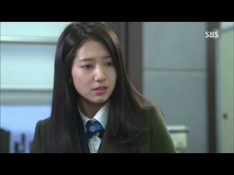 The Heirs Eng sub Ep 13 finale scene Young do locks Eun sang with him part 1