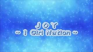 Joy (1 Girl Nation) with lyrics