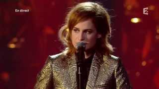 """Christine and the queens - """"Nuit 17 à 52"""" Victoires de la Musique 2014"""