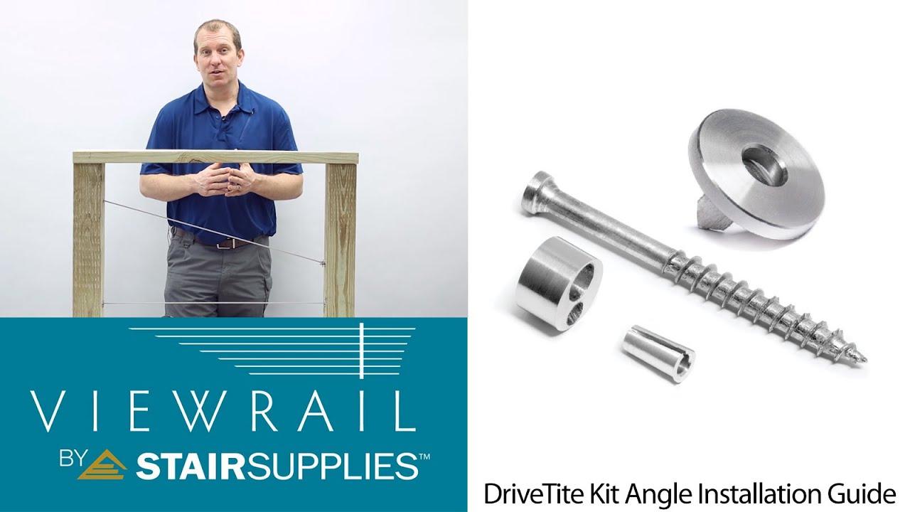 Angle DriveTite Installation