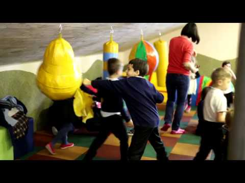 У Фастові відкрили м'який спортивний зал для дітей (ВІДЕО)
