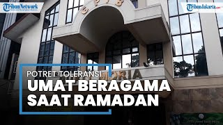 Potret Toleransi di Bulan Ramadan, Jemaat GPIB Bukit Moria di Tebet Jaksel Berbagi Takjil Gratis