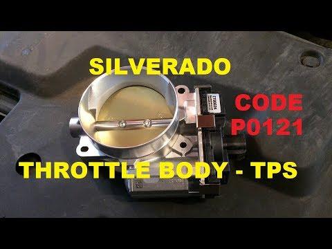 Chevy Silverado Throttle Body - TPS - Code P0121 install - Subariblet