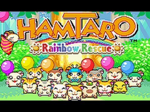 Hamtaro : Rainbow Rescue GBA
