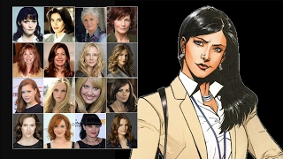 Comparing The Voices - Lois Lane