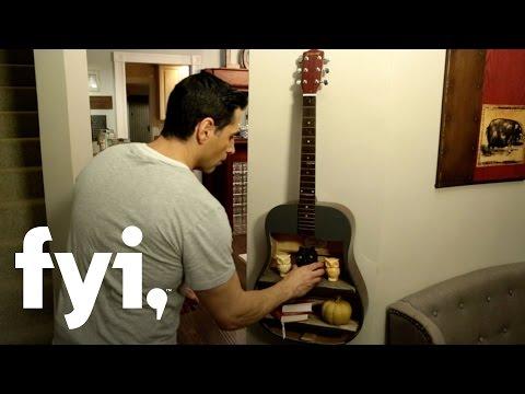 DIY Guitar Shelf Tutorial | Downtown Shabby | FYI