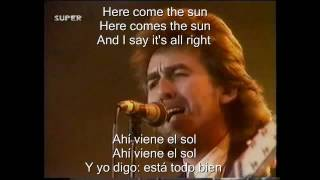 George Harrison   Here comes the Sun Sub Esp   Ing