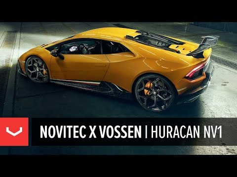 Novitec x Vossen | Lamborghini Huracan Performante | NV1 Forged Wheel