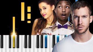 Calvin Harris - Heatstroke (ft. Young Thug, Pharrell Williams & Ariana Grande) - Piano Tutorial