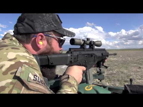 TNP:  Raw Beretta ARX 100 Shooting