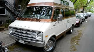 BEAUTIFUL DODGE TRADESMAN 100 CAMPER VAN SIGHTING