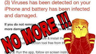 Virus/Malware in your iPhone? || Stop Virus ||Remove it NOW!!