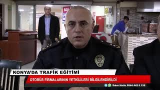 Konya'da trafik eğitimi
