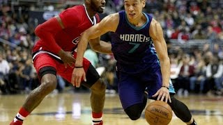 林書豪Jeremy Lin's Offense & Defense Highlights 2015-12-20 Hornets VS Wizards