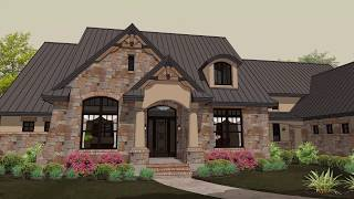 French Country House Plans #61-208 By Monsterhouseplans.com