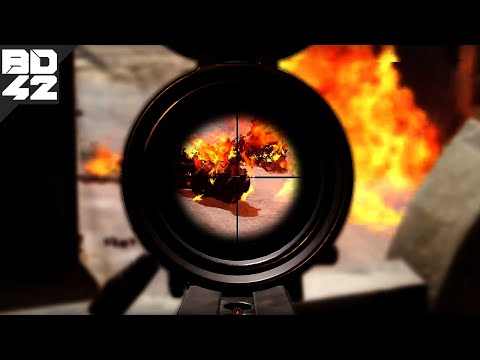 The .50 caliber Barrett M107 sniper rifle... in Insurgency: Sandstorm