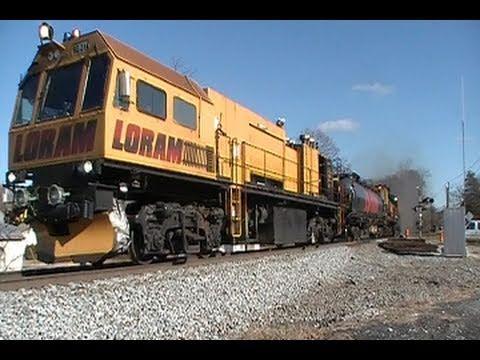 Loram Rail Grinder in Action 1 19 11