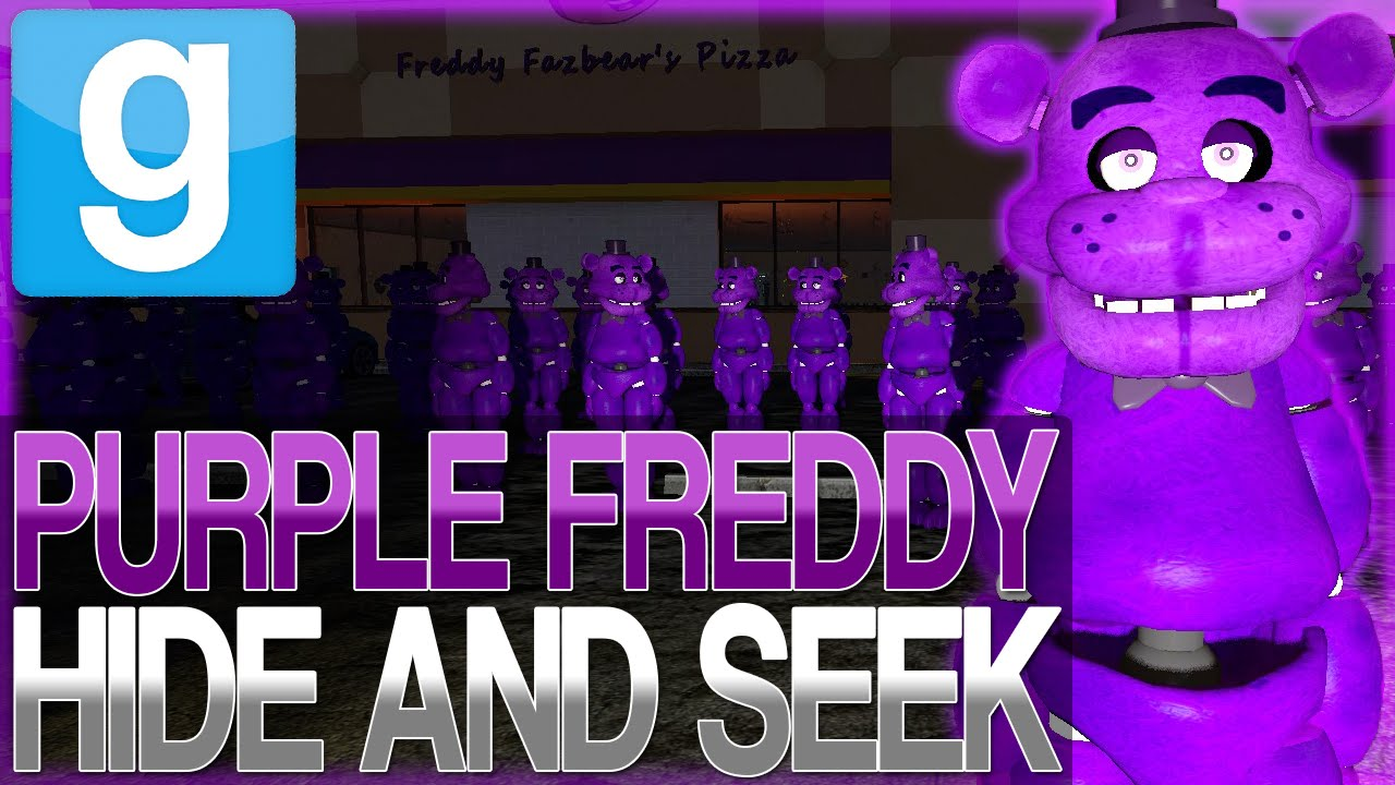 Garry's Mod   ULTIMATE PURPLE FREDDY HIDE AND SEEK   Gmod