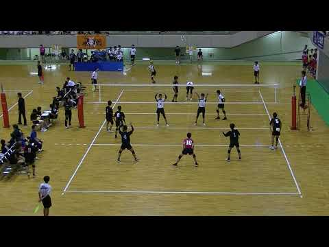 20180724北九州市中学校バレーボール大会 男子5位決定戦 志徳vs吉田