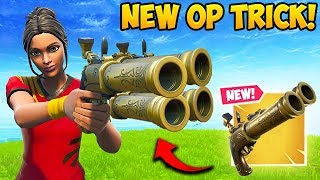 THIS FLINT KNOCK TRICK IS *SUPER OP*   Fortnite Funny Fails And WTF Moments! #588