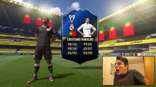 OMFG!!!! TOTY RONALDO IN A PACK! (Best TOTY Pack Opening In FIFA History!)