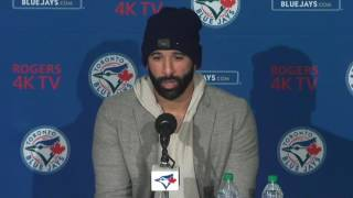 Bautista: Had other opportunities, options but wanted to be back here