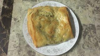 Слоёная Лепешка С Луком И Зеленью. Восточная Кухня. Рецепты Народов Мира