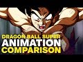 Dragon Ball Super Animation Comparison - Battle of Gods vs Tournament of Power